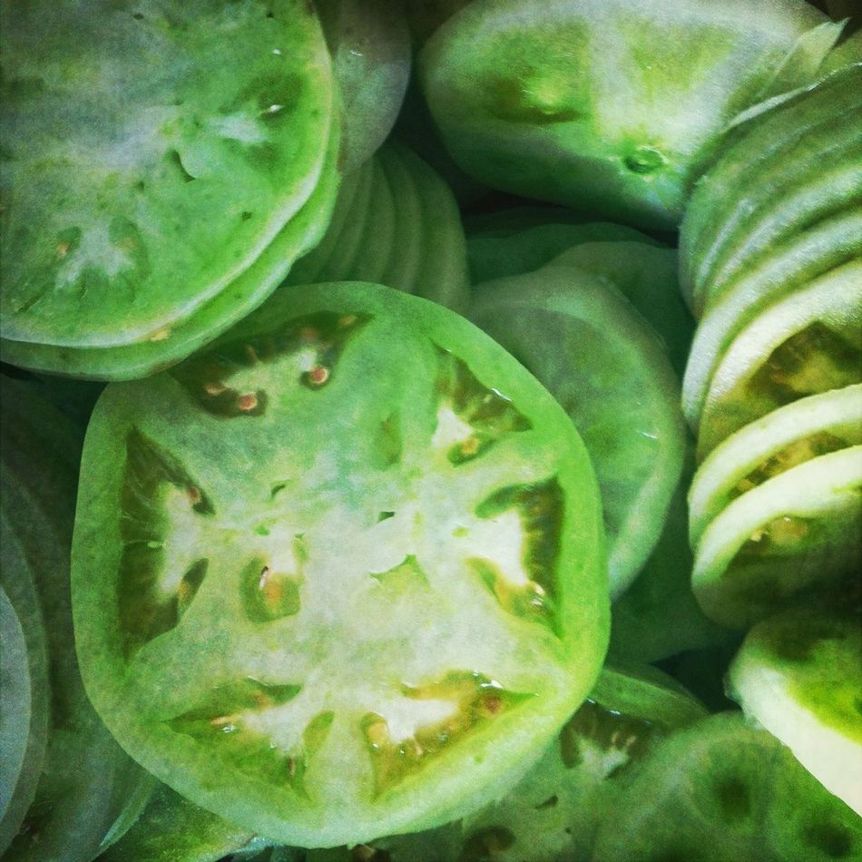 New green tomatoes