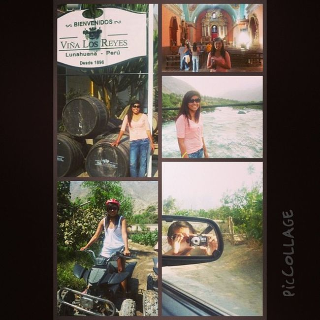 Lunahuana .... Visita 1500 ja PicCollage  Fullday Tour Trip igersperu