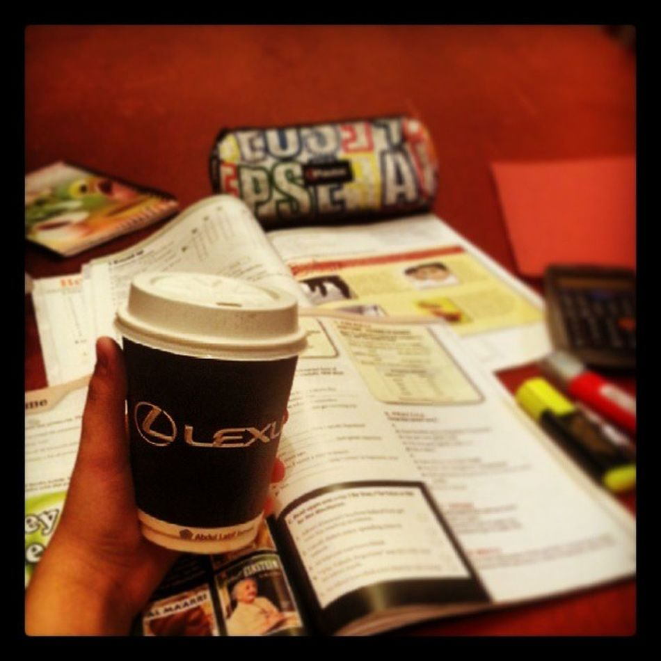 All i need is coffee to stady hard :D Coffee Stadying English