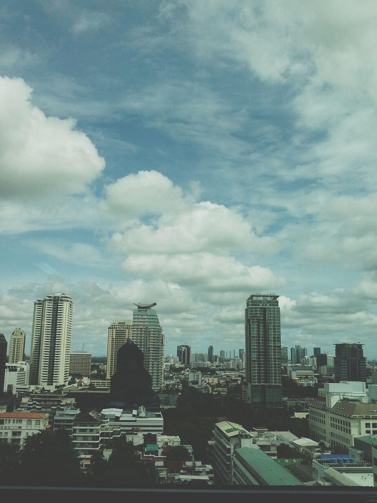Friday Sky And Clouds in Bangkok