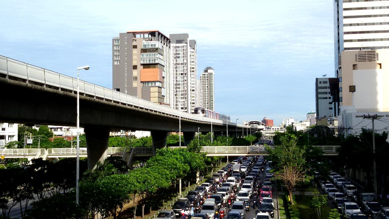 architecture, built structure, city, building exterior, transportation, day, sky, outdoors, cloud - sky, road, no people