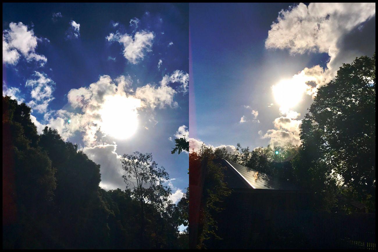 Beautiful sunshine today ☀️💛☀️ #WhileIwaswalking #Sunshine #Love👌🏼