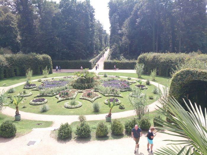 vista de unos Jardines en la Ciudad De Potsdan en Berlin