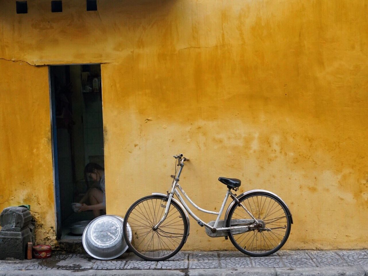 Early morning, Hoi An, Vietnam Bicycle Transportation Mode Of Transport Travel Photography Detailphotography Streetphotography Streetphoto_color