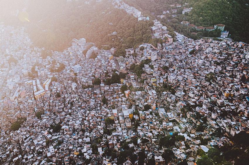 Favela Rocinha, Rio de Janeiro - Brazil Chaos City City Life Cityscape From Above  Rio De Janeiro Rio De Janeiro Eyeem Fotos Collection⛵ Architecture Day Dense Density Density Of Population Favela Favelas Hill Morro Nature Outdoors Poverty Slum Slums Sunrise Tropical Tropical Climate Warm