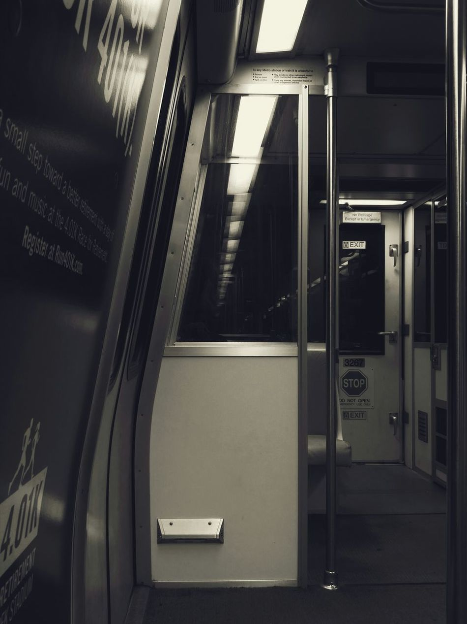 Late Night Metro Ride. BadAnimals Images 2015. Mobilephotography LGG4 Monochrome Eerie Subway Urbanphotography Underground Eyeemdaily Photography