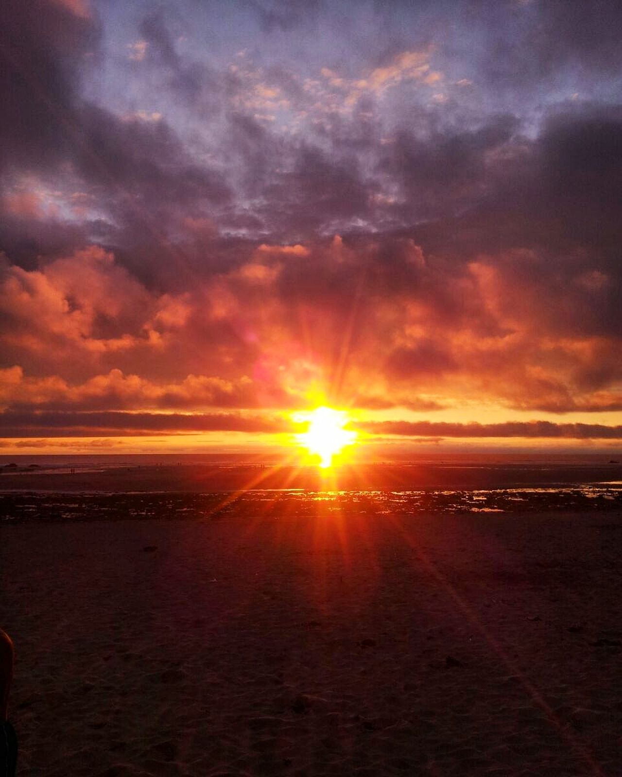 Photo Photography Sun Sunset Cloud - Sky Clouds Clouds And Sky Ocean Sky Beautiful View Beauty Orange Sky Sunset Sand Sand And Ocean Beach England TBT  Nicetime MyFavView Catchthemoment CaptureTheMoment