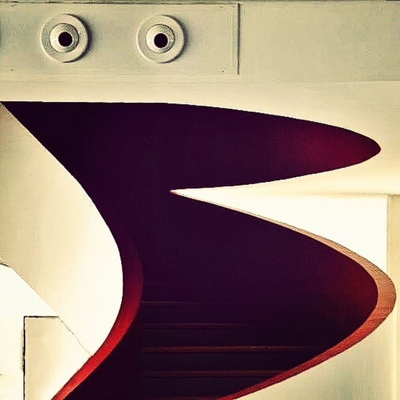 My dear friend Lucy just took this photo of this staircase in #Istanbul ; edit by me. Feel free to check out her stream on http://m.flickr.com/#/photos/nevermindsailors/ I think she's got talent. The World Needs More Spiral Staircases Minimalism Architecture