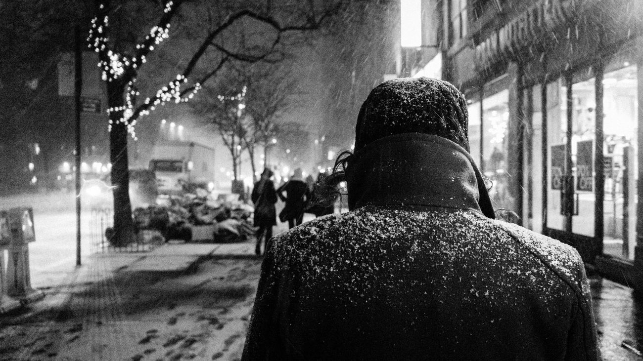 NYC Blackandwhite Street Photography