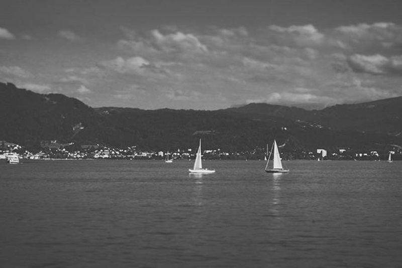 Beautiful View of the Lake . Yachts Sailing . at the Hafen Port . Lindau Bodensee Deutschland Germany . Taken by my Sonyalpha DSLR Dslt A57 . مرفأ يخوت بحيرة جزيرة لينداو المانيا