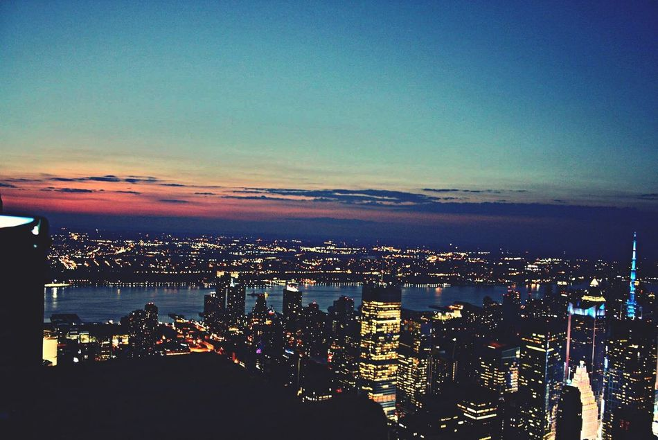 View Mahnattan Empire State Building NYC