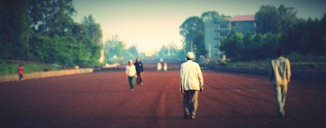 Bahirdar Ethiopia Morning Peoplewalking Morning photo Morningvibes