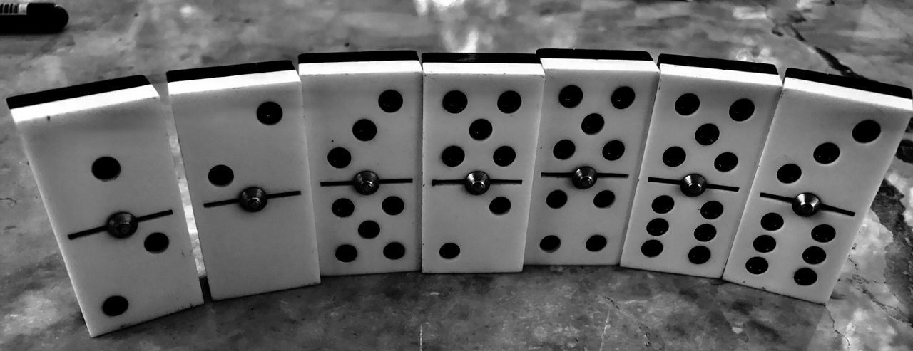 indoors, spotted, no people, dice, close-up, leisure games, gambling, day