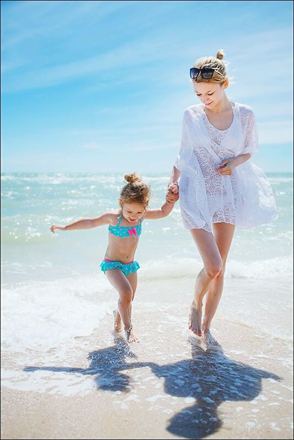 Vacations Beach Togetherness Sea Child Fun Mother Childhood Females Summer Daughter Bonding Full Length Sand Family With One Child Travel Ansysellin 2017 EyeEm Best Shots Travel Destinations Leisure Activity Family Beautiful People Krivoyrog Ukraine