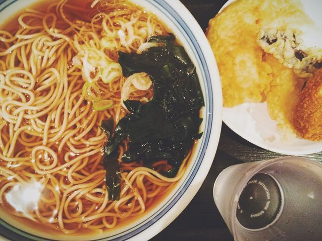 Japanese Food Soba Dinner Time