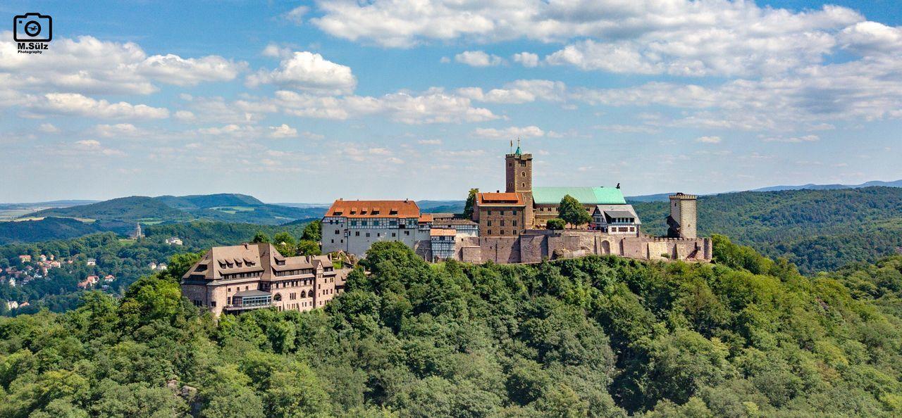 Burg Wartburg In Eisenach/ Germany No People Sky Outdoors