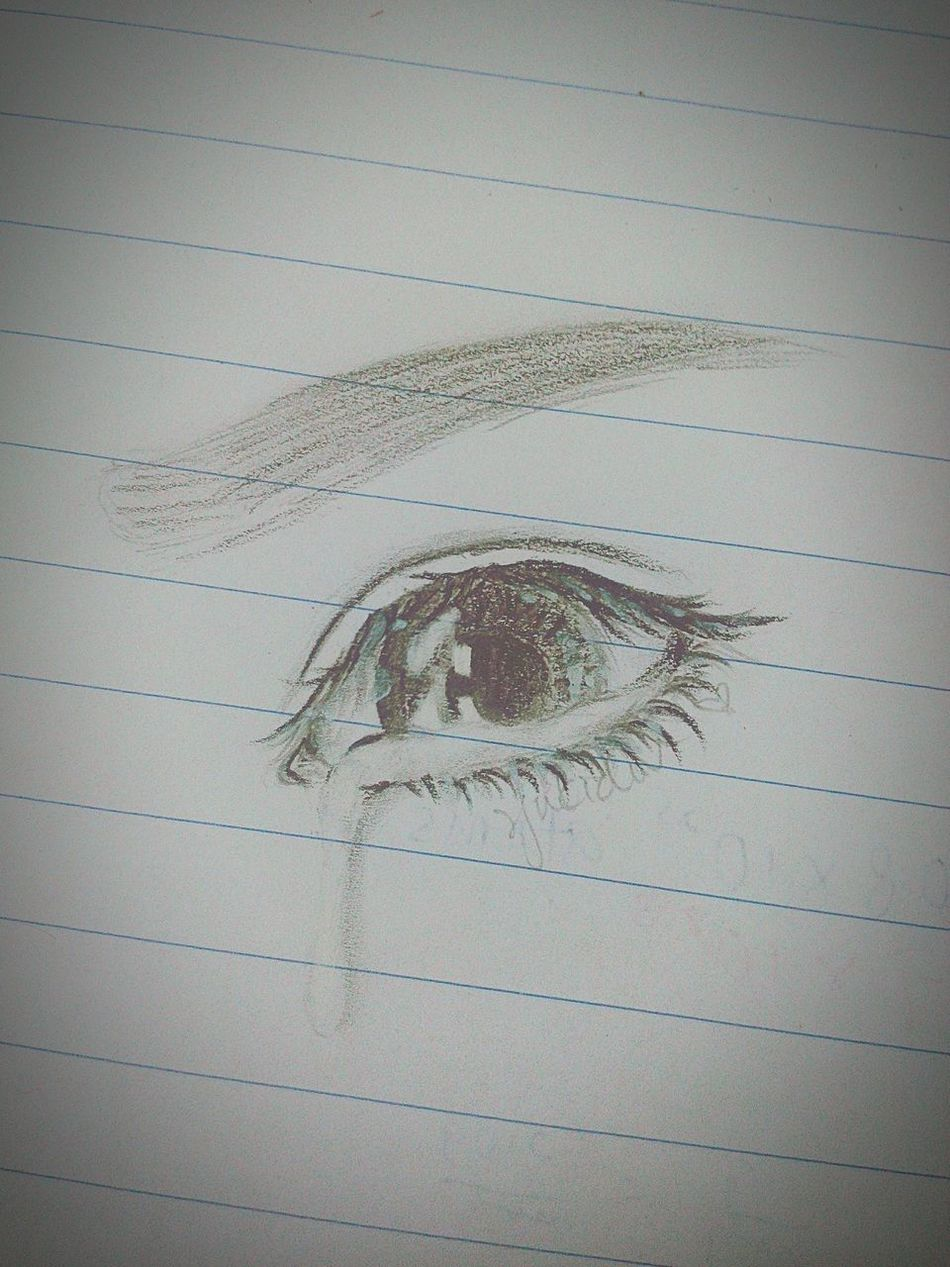 Sad Cry Tears Drawing Feeling Wanna Cry Emo When You See It