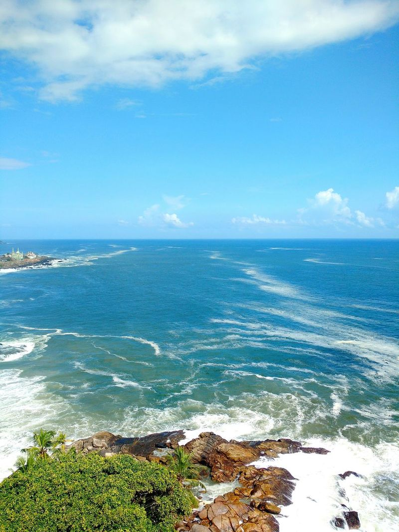 Ocean and water KovalamBeach Lighthouseview Height Photography Patterns In Nature Originalshot