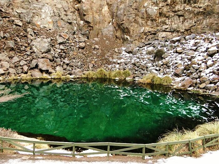 Laguna de la Niña Encantada. Mendoza