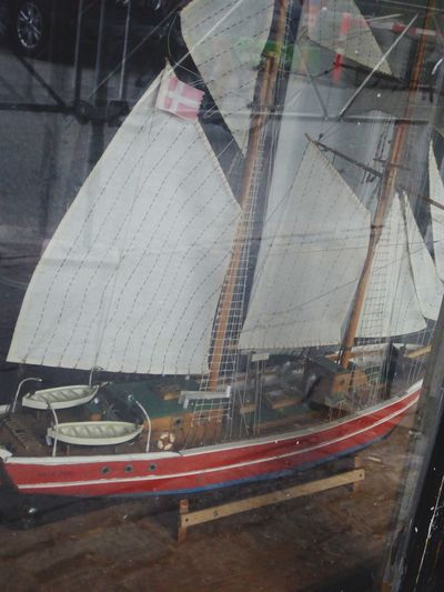Denmark 🇩🇰 Wonderful Copenhagen Sailboat Sail Away, Sail Away Sailing Ship Window View Boatmodel Window Historical Things Old But Awesome Old Stuff Taking You On My Journey😎 Copenhagen Habour Fine Art Photography Transportation Shipdetail No People