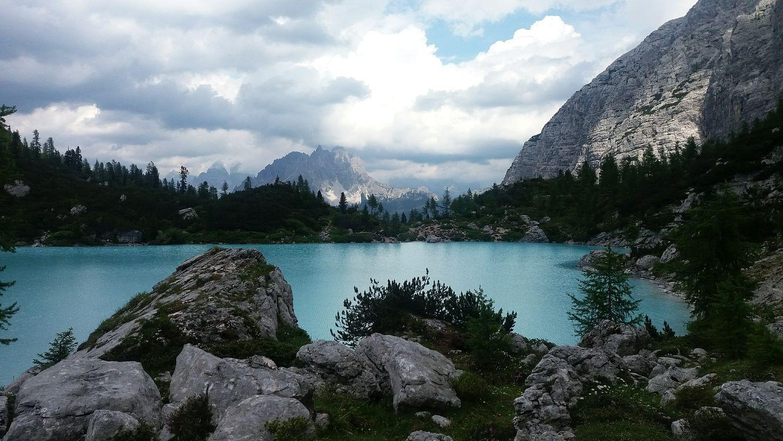 Lago Di Sorapiss Sorapis Lake Sorapis Cortina D'Ampezzo Mountains Clouds And Sky Nature Italy Taking Photos Beautiful Landscape EyeEm Best Shots EyeEm Nature Lover EyeEm Gallery EyeEm Best Edits