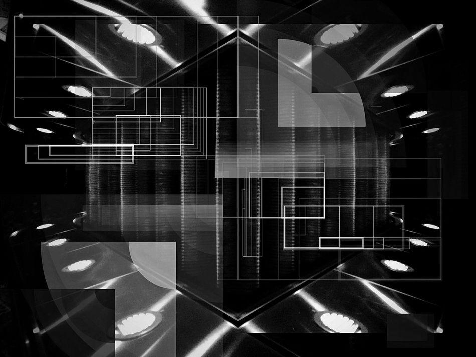 Black And White Blackandwhite Digital World Geometric Shapes Geometric Blackandwhite Photography Monochrome Geometric Abstraction Black & White Abstract