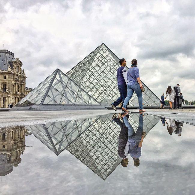 A day for puddles! Bonsoir Paris Cloud - Sky Architecture Cloud Clouds And Sky Eyem Best Shot - Architecture Paris Famous Place EyeEm Best Shots Parisweloveyou Paris ❤ Photooftheday