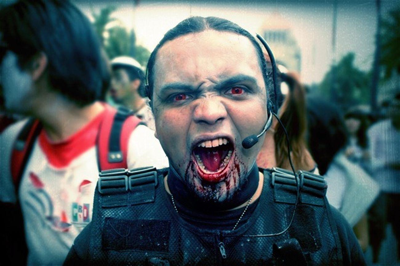 zombie Walk 2011 in Mexico City Zombie Walk 2011