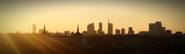 Battle Of The Cities Milano Milan Sunset What A Wonderful World What A View Perfect Day Perfect View