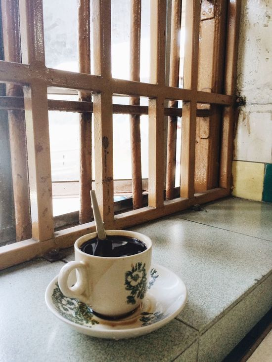 Kopi Local Coffee Shop  Coffee Coffee Time Taking Photos Daily Life Daily No People Freshness Indoors  Drink Coffee Cup Coffee - Drink Day Local Coffee