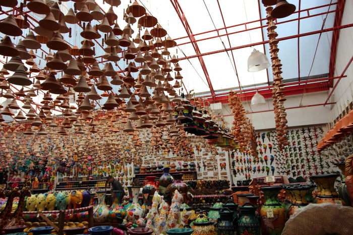 Crafts Market Abundance Architecture Art Ceramic Ceramic Art Ceramic Art Craft Ceramics Clay Clay Art Clay Work Day Earthenware For Sale Handmade Hanging Indoors  Large Group Of Objects Market Pottery Raquira Retail  Shelf Variation
