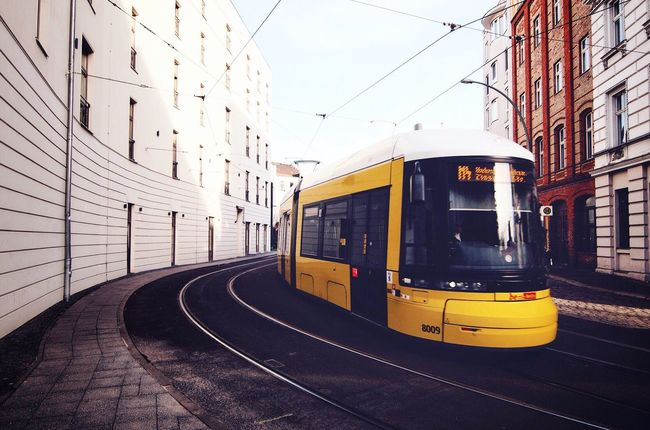 Transportation City Built Structure Mode Of Transport Architecture Public Transportation Tramway Railroad Track Tram Cable Car Sky Outdoors Rail Transportation Day No People Tourism Welcomeweekly Week On Eyeem Open Edit Travel Destinations Vacations Lifestyles