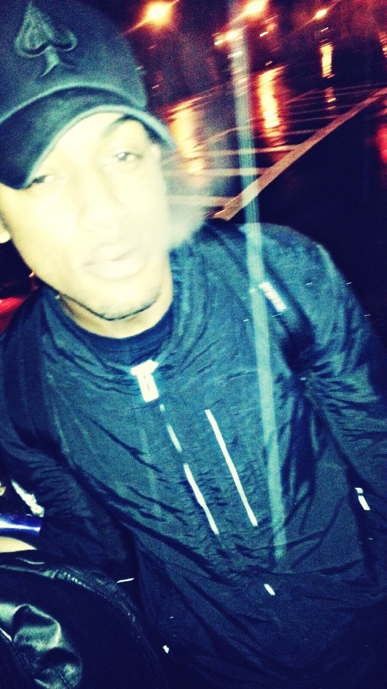 On My Way Home All I C Is Smoke