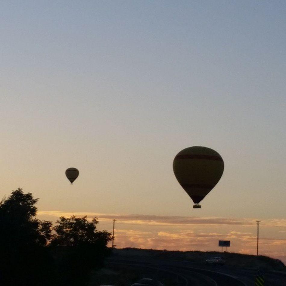 ürgüp Balon Gunes Batımı