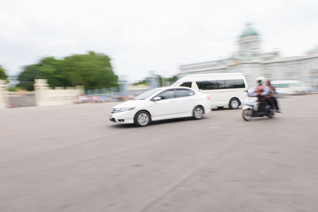 car with motion blur Bangkok Blur Car City Day Fast Metropolis Motion Motion Blur Motor Move Movement Road Slow Shutter Slow Shutter Speed Street Thailand Traffic