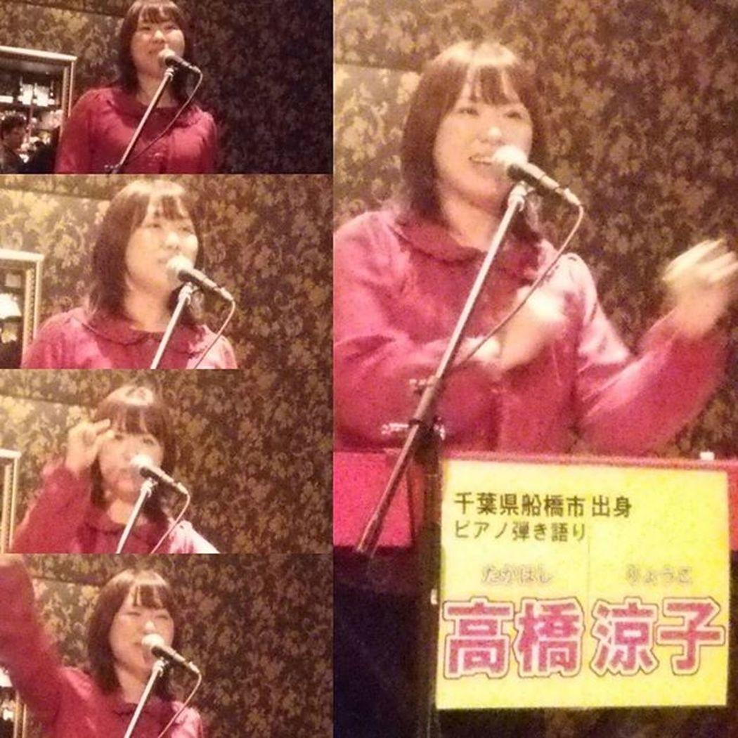 """2ndステージ、 高橋涼子さん(""""⌒∇⌒"""")"""