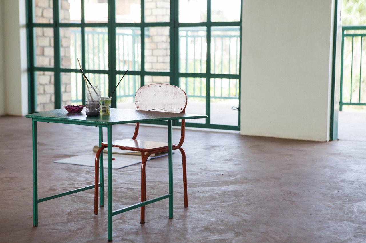 Africa African Art Art Class Art Materials Chair Class Classroom Creativity Desk Education Learn Learning Primary School School School Desk Table Tables Teaching