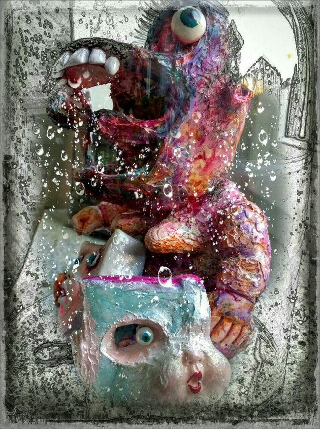 Close-up Art Secret Garden Mixedmedia Sculptures