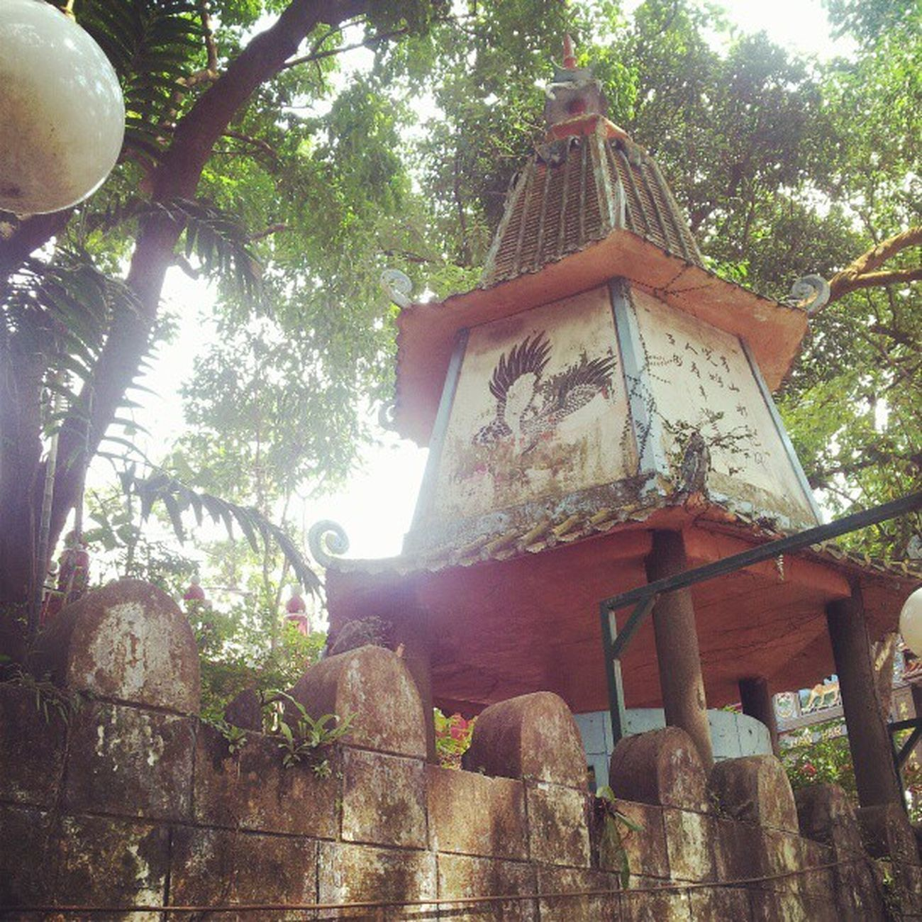 The external of Haw Par Villa. As you can see the place is pretty run down already. Singapore Hawparvilla