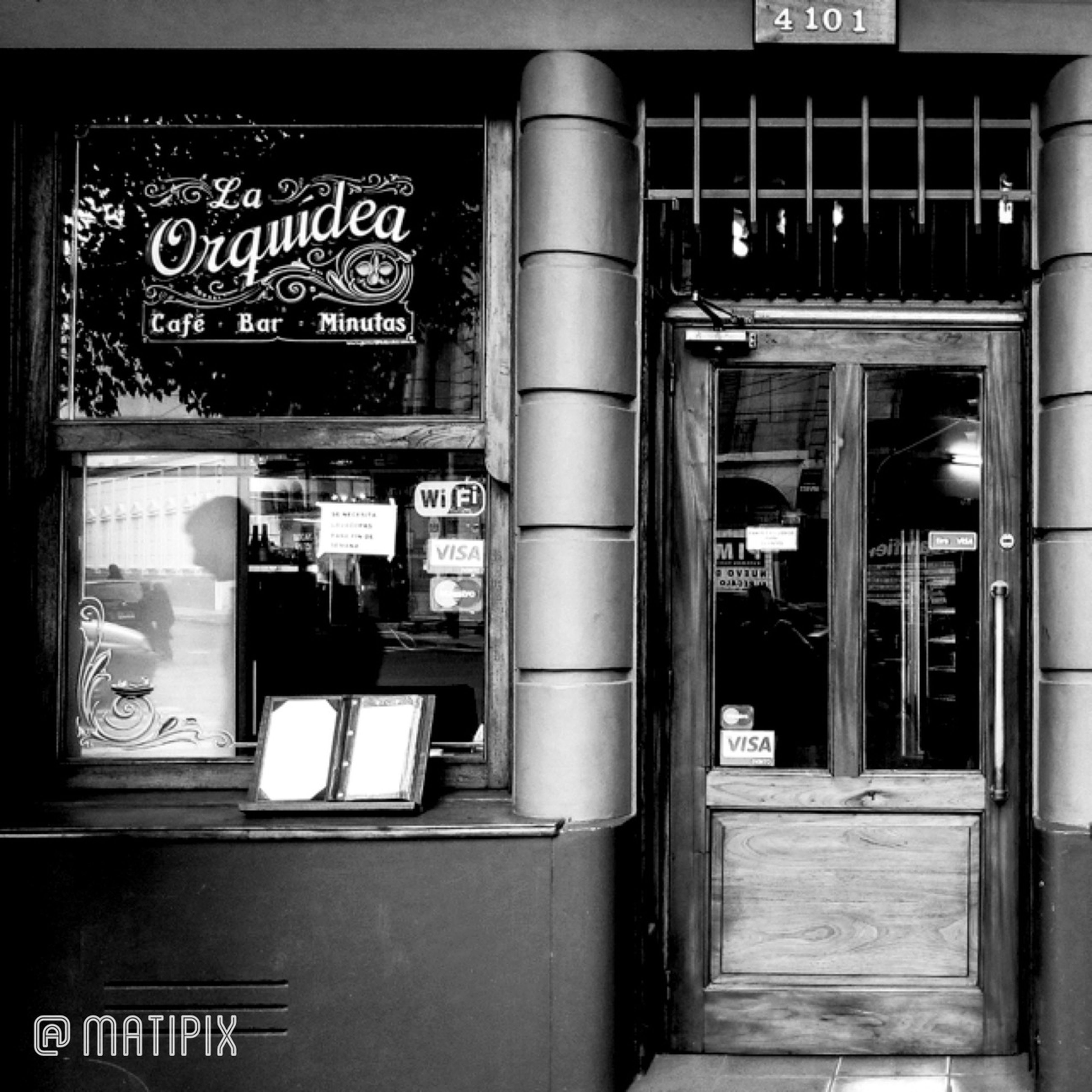 Café de la Esquina Noir Monochrome Pretoebranco Bw_collection