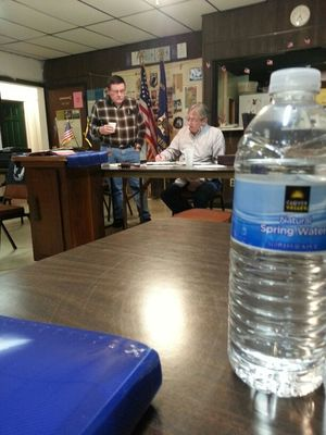 Meeting at VFW Post 6947 by Onkel Art
