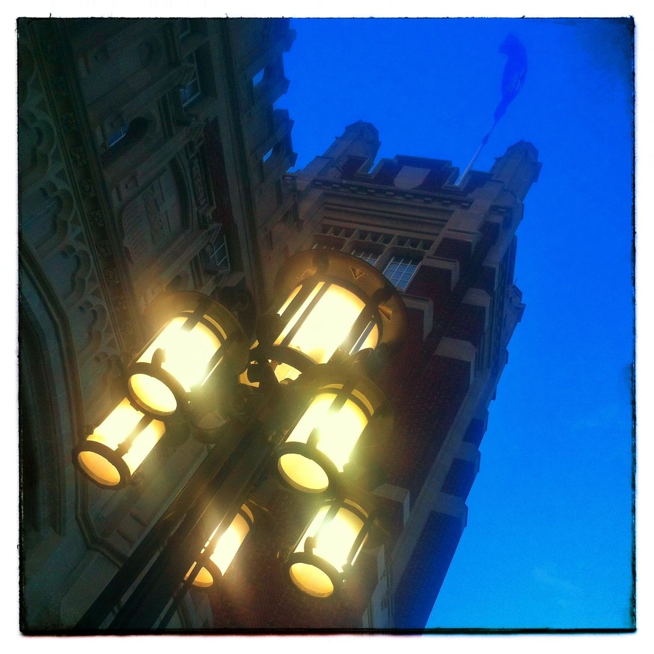 Castle light. YYC Light IPhone Photography