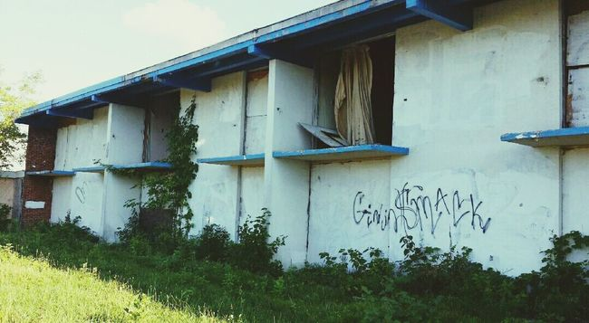 Urbexphotography Urbex Check This Out Abandoned & Derelict Abandoned Places Homeless Shelter Broken Dreams Curtains In The Breeze Architectural Feature