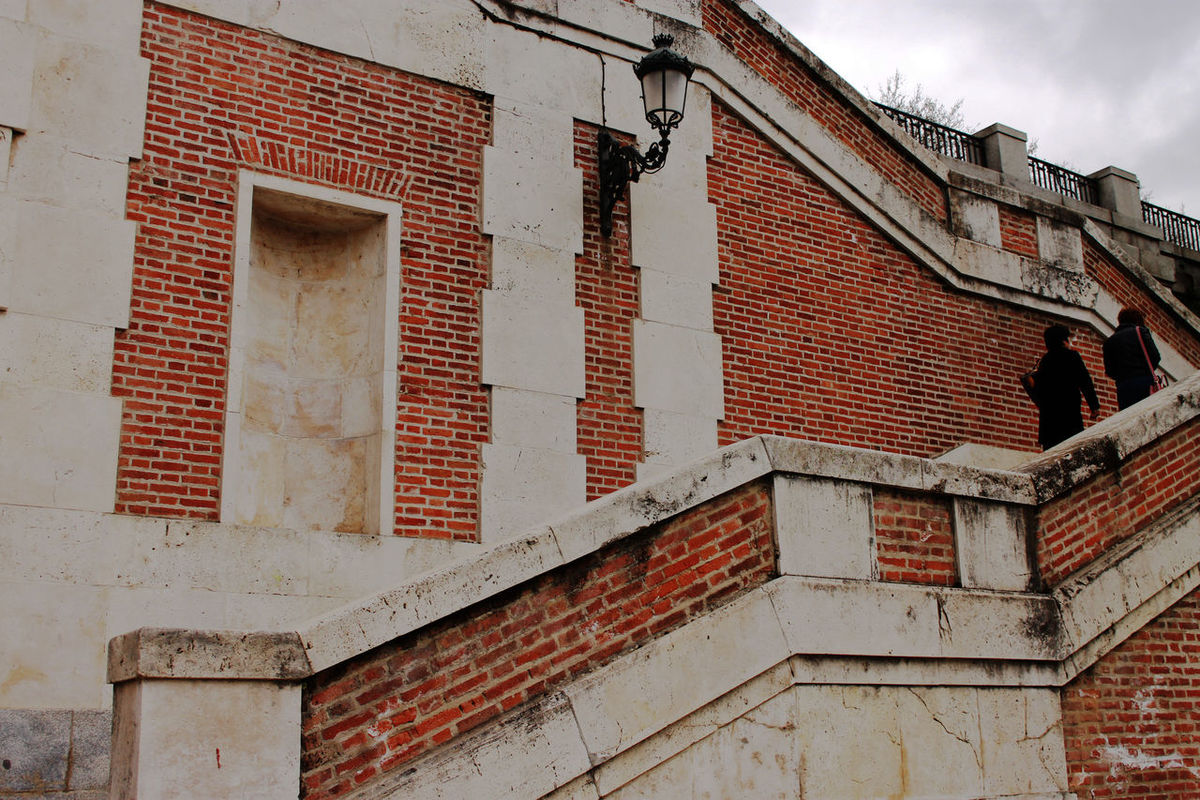 Architecture Brick Wall Building Exterior Built Structure Day Low Angle View Madrid No People Outdoors SPAIN