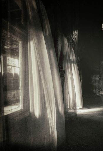 """At times you see a ghost down on the street. Walks the hallway knocking door to door. Where are you from night til 9am? Only a dark skinned jesus knows why suddenly a room is turning cold. Cold is nowhere."" (Lanegan) Urbex Light And Shadow NEM Derelict Abandoned Buildings"