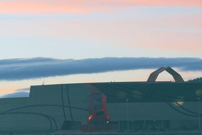 A streak line of cloud above the sky of the most quiet capital city Cloud - Sky Nature EyeEm Best Shots EyeEm Nature Lover Eye4photography  EyeEm Gallery Tadaa Community