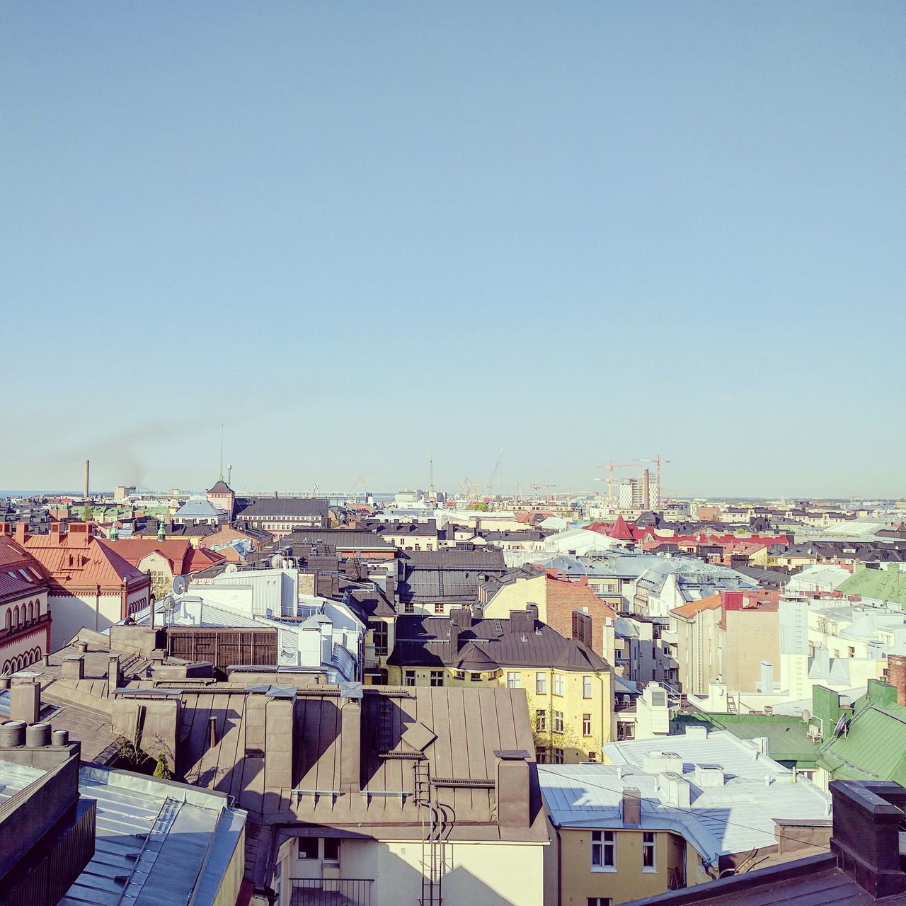 On the rooftops of Helsinki. First Eyeem Photo