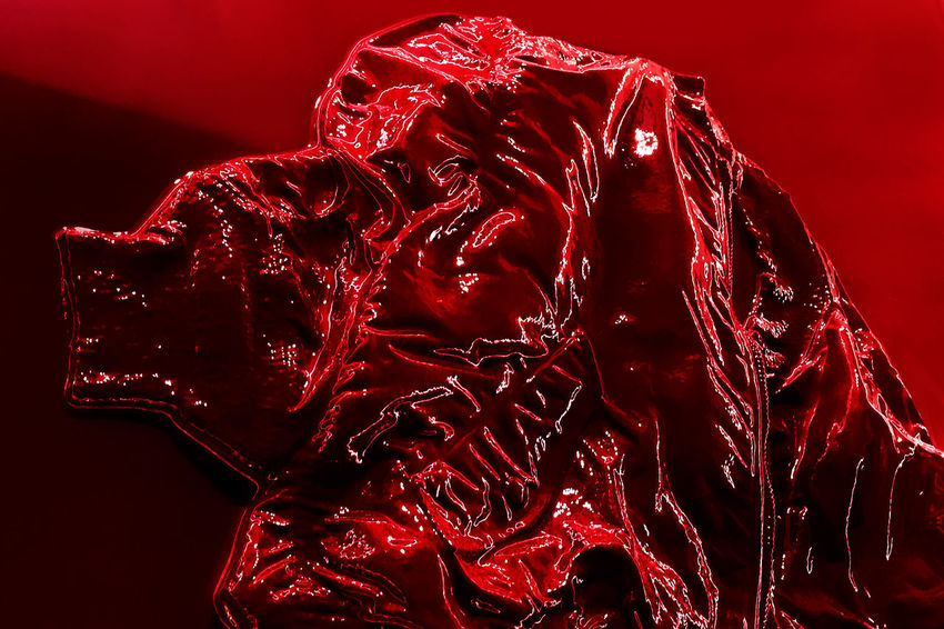 Red Reflection Art Close-up Color Full Frame Jacket Red Shadow Shadows Studio Shot