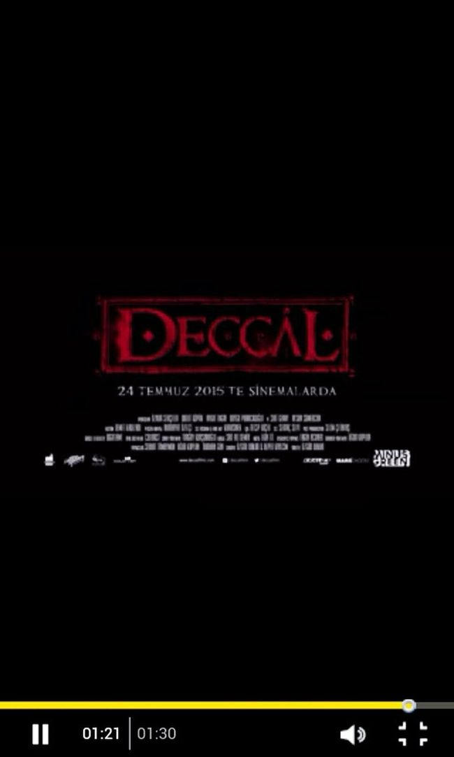 Deccal ♥ 15:30 da izlicem :D kent meydanında :)