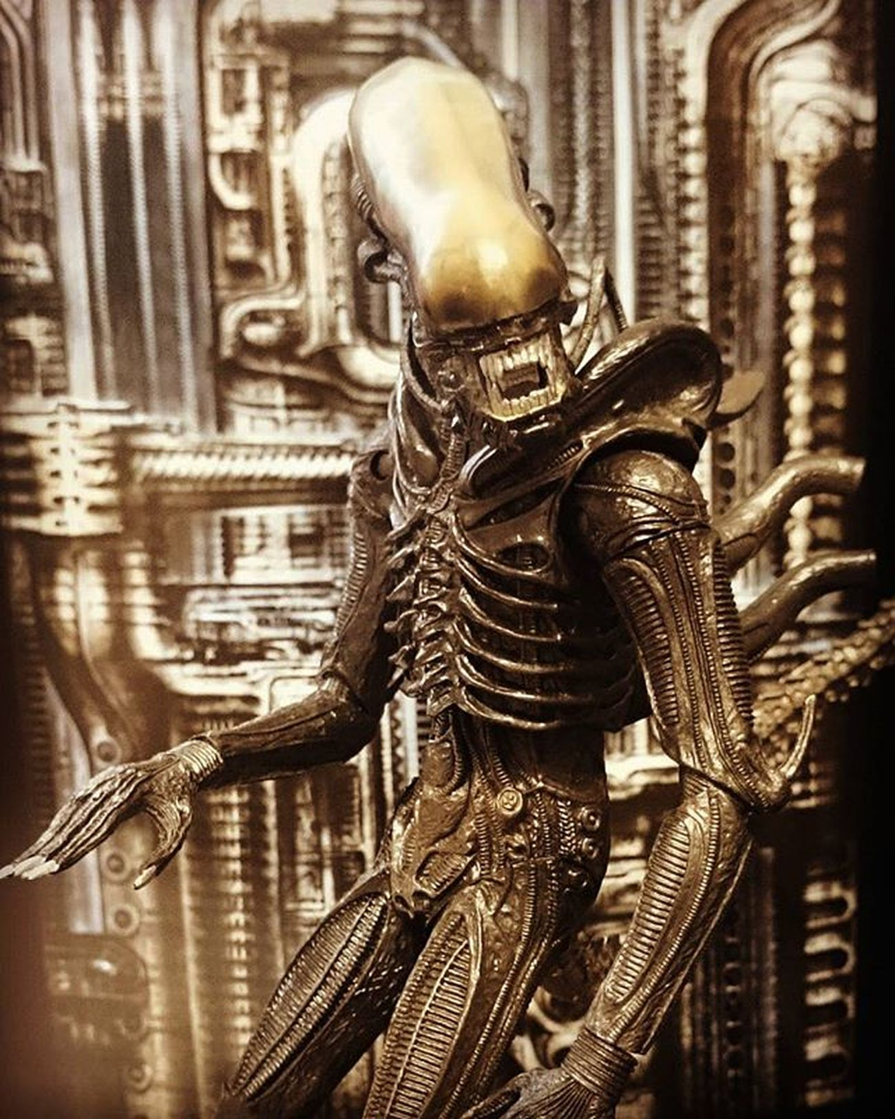 Tagged by @plastic_therapy for a Stopdropandfigureselfie Happy to oblige. 👍 Geoffthexenomorph Alien